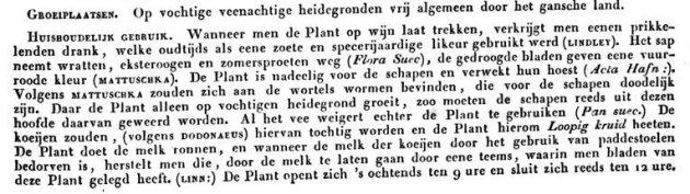 fragement uit oude flora